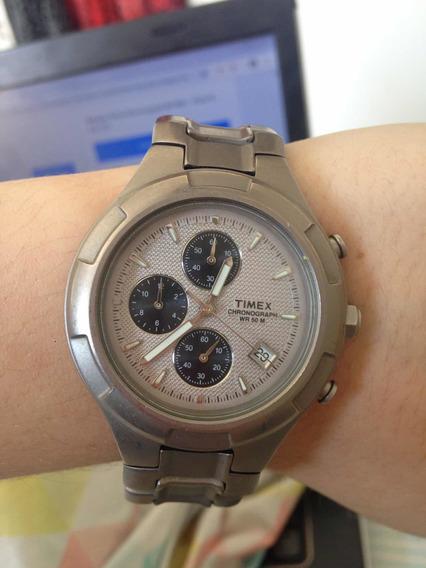 Relogio Timex Chronograph Wr 50 M Barato Promocao