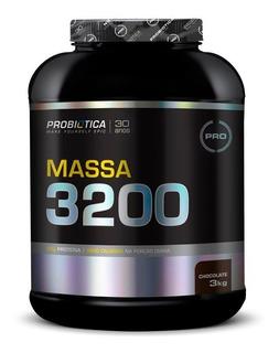 Massa 3200 Anticatabolic Probiótica 3kg Hipercalórico