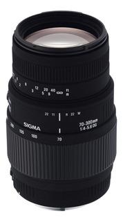 Lente Sigma Original 70-300mm Dg Macro F4-5.6 Canon Nikon