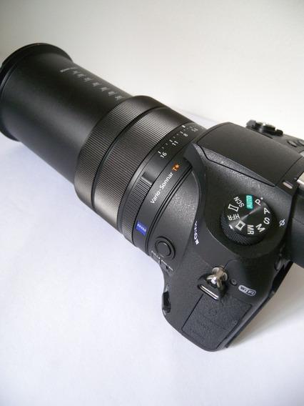 Câmera Sony Rx10 Iv M4 Lente Carl Zeiss 24-600 Profissional!