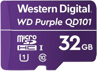 Memoria Wd 32gb Micro Sdhc Purple Sc Qd101 24/7 C10