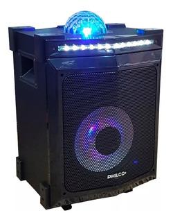 Parlante Portátil Philco Djp85bt Bluetooth Luces 3500w