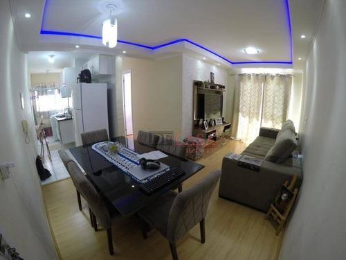 Apartamento À Venda, 51 M² Por R$ 210.000,00 - Jardim Santo Antônio - São Paulo/sp - Ap6211