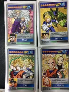 Lote De Cartas De Dragon Ball Z