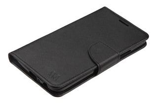 Funda Flip Cover Moto G5 Plus Flip One + Vidrio Templado
