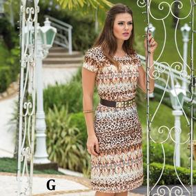 Vestido Midi Social Moda Evangélica