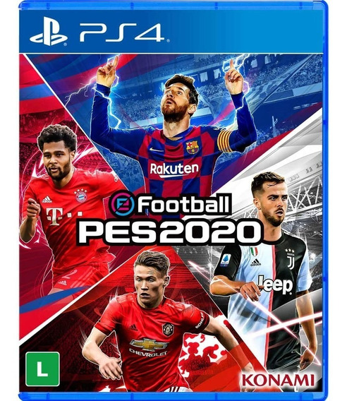 Pes 20 Pro Evolution Soccer 2020 Ps4 Midia Física Portugues
