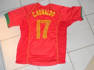 Camiseta Futbol Ronaldo Portugal 2004