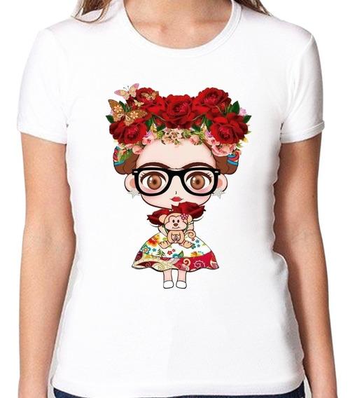 Blusa Frida Kahlo Algodón Dama Moda Viva México