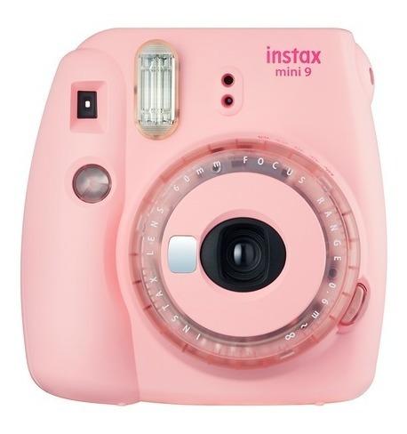 Câmera Instantânea Fujifilm Intax Mini 9 Rosa Chicle