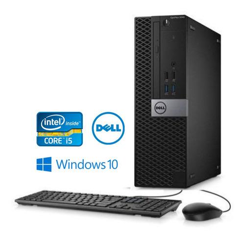 Imagem 1 de 4 de Pc Dell I5 6th 4gb De Memória Ram Ddr3 Ssd 120 Windows 10