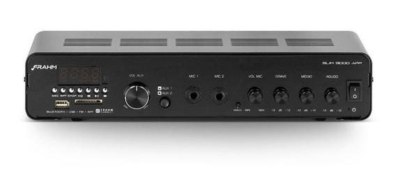 Amplificador Som Slim 3000 App Bt Usb/sd/fm G2 Frahm