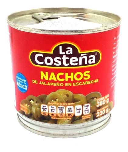 Nachos De Jalapeños La Costeña Lata 380g Mexico