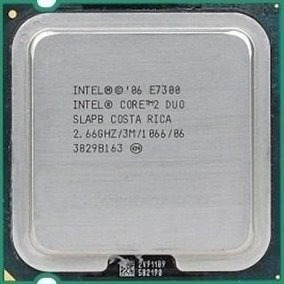 Core 2 Duo E 7300 2.66ghz 3mb 775 Em Otimo Estado Com Garant