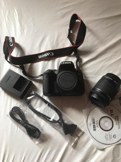 Câmera Eos Rebel Canon T6i - Completa