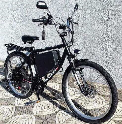 Imagem 1 de 8 de Bicicleta Elétrica Wind Bikes Modelo Daily 1500 W 48 V 15ah