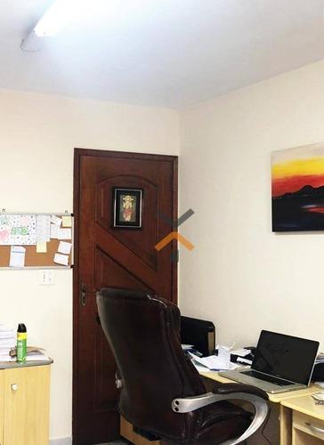 Casa Com 1 Dormitório Para Alugar, 100 M² Por R$ 3.300,00/mês - Jardim - Santo André/sp - Ca0038