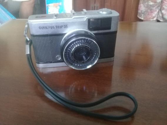 Câmera Fotográfica Olympus Trip 35 Made In Japan
