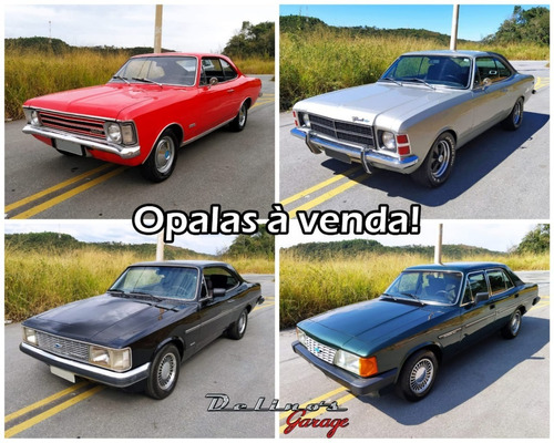 Gm Chevrolet Opala Deluxo 74 Standard 79 80 Comodoro 88 250s