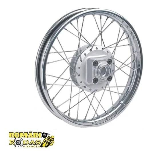Roda Montada Moto Traseira Titan-fan 125 2000/08 Raios 4mm