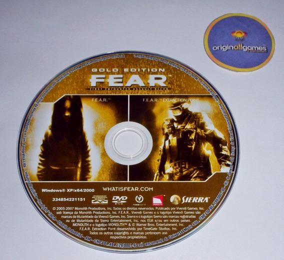 Fear Gold Edition ¦ Jogo Pc Original Usado ¦ Mídia Física