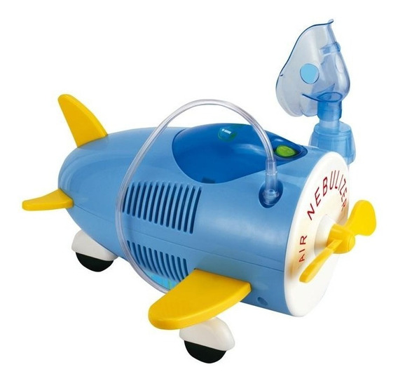 Nebulizador Airplane Inhalacare Silencioso C/ Accesorios