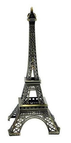 Torre Eiffel Decorativa Paris 18 Centimetros Em Metal