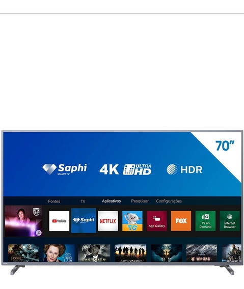 Smartv Philips 70 Polegadas Full Hd