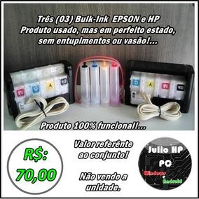 Bulk-ink Epson E Hp, Produto 100%