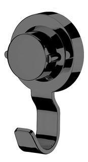 Gancho Multiuso Toalha Com Ventosa Preto Onix 4054ox Future