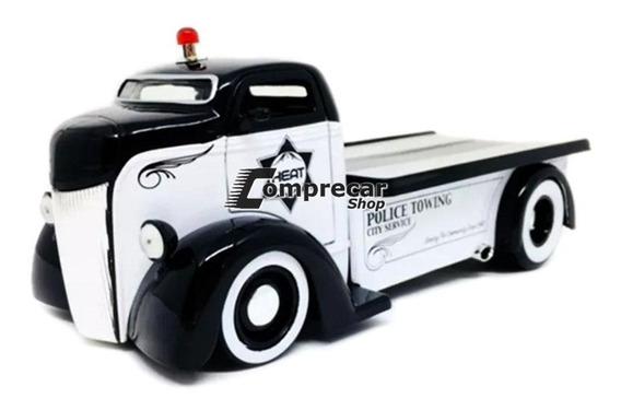 Miniatura Ford Coe Police Badge City Heat 1947 Jada 1/24