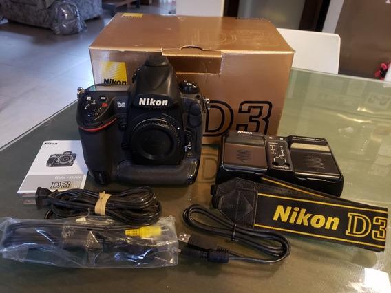Nikon D3. Body. Impecable