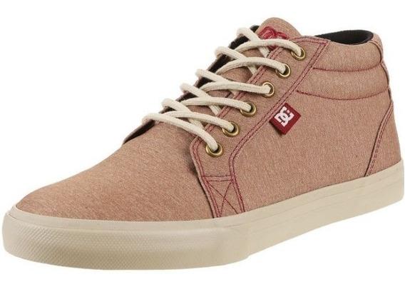 Zapatilla Beige Dc Shoes Council Mid Tx Se