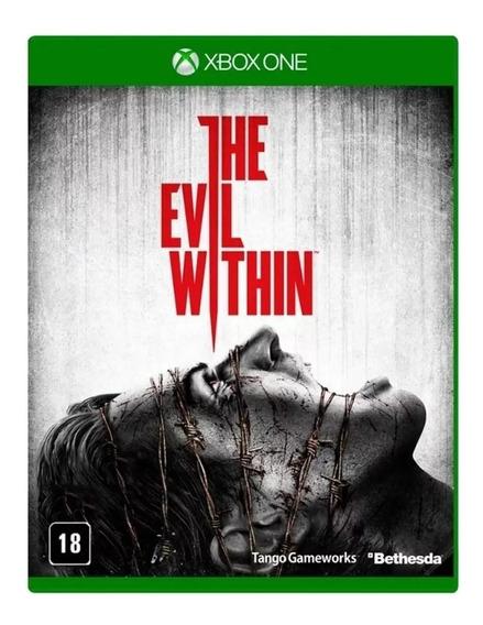 The Evil Within Xbox One Mídia Física Lacrado Rj