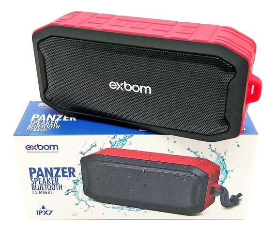Caixa De Som Bluetooth Portátil Charge Prova Água Original