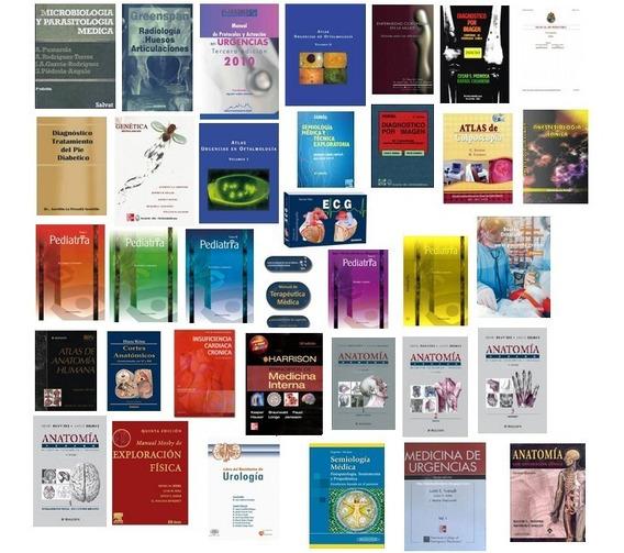 Coleccion Libros De Medicina Mas De 5 Gbs De Inf *tm*