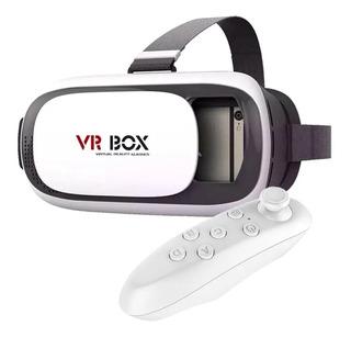 Óculos Realidade Virtual Bluetooth+controle Pron Enviar 24hs