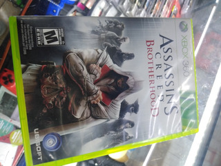 Assasins Creed Brotherhood Xbox 360 Fisico Oferta