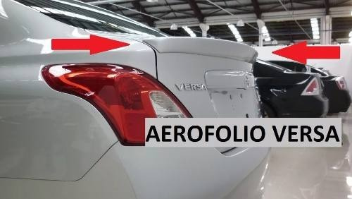 Aerofólio Tampa Traseira Original Nissan Versa