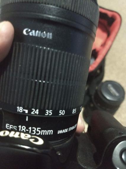 Canon 60d + 3 Lentes