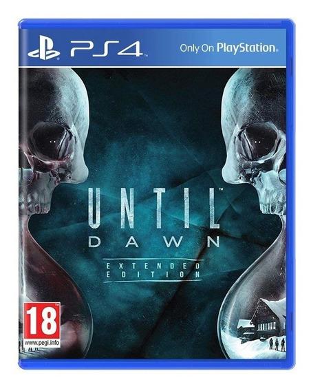 Until Dawn Extended Edition Ps4 Mídia Física Novo Lacrado