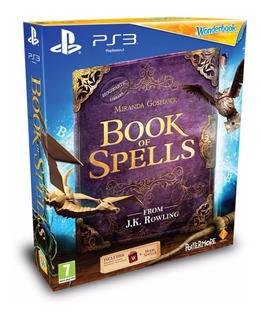 Juego Ps3 Wonderbook Book Of Spells - Revogames
