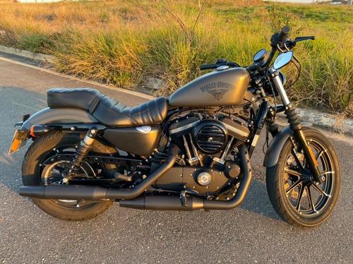 Harley Davidson Sportster Xl883n Iron 2018 Cinza Impecável