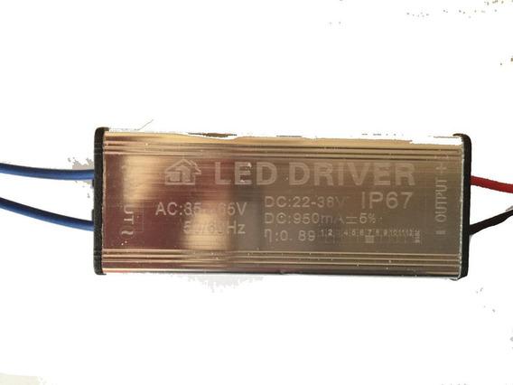 8 Driver Fonte Reator De 50w Para Reposição Refletores