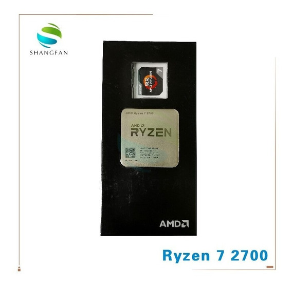Processador Amd Ryzen 7 2700x 3.7ghz (4.3ghz Turbo) S/cooler