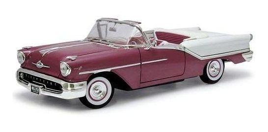 1957 Oldsmobile Super 88 Roxo - Escala 1:18 - Yat Ming