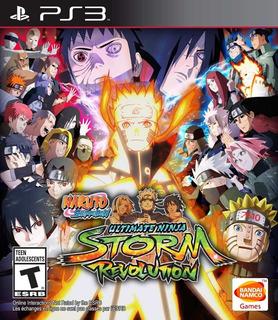 Naruto Shippuden Ultimate Ninja Storm Revolution Ps3 Español Digital Tenelo Hoy!!