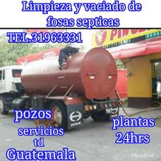 Limpieza Y Vaciado De Fosas Septicas Pozos En Td Guatemala