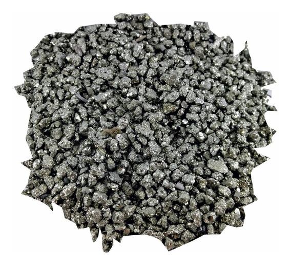 Pedra Cristal Natural Bruta Pirita Cascalho 500g
