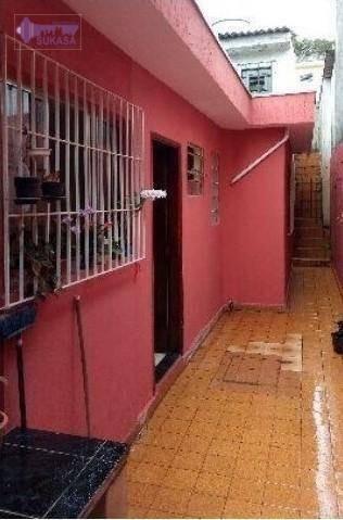 Casa Com 2 Dormitórios À Venda, 147 M² Por R$ 350.000,00 - Jardim Utinga - Santo André/sp - Ca0201
